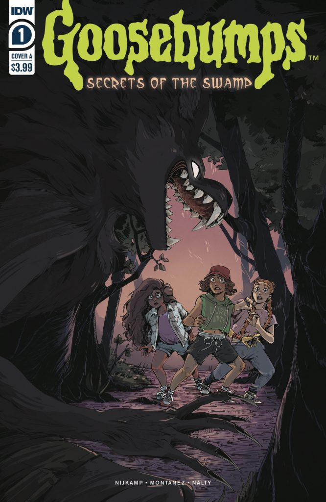 Goosebumps Secrets of the Swamp issue 1 review