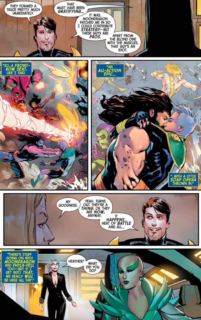 Guardians of the Galaxy Issue 6 review