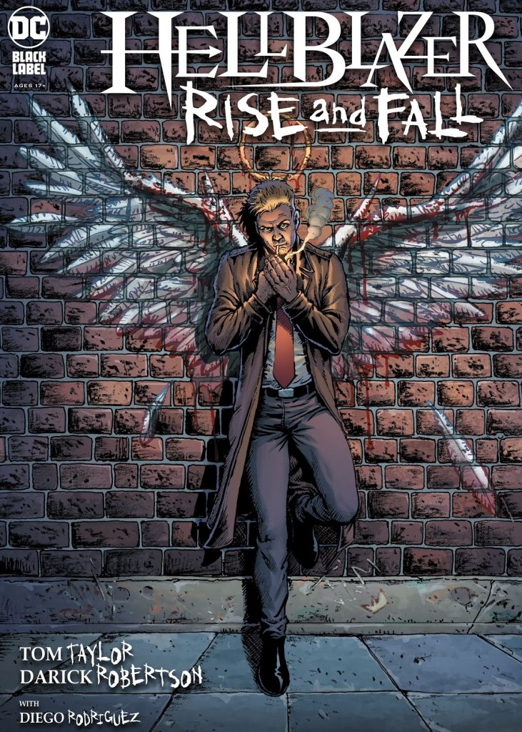 Hellblazer rise and fall Issue 1 review
