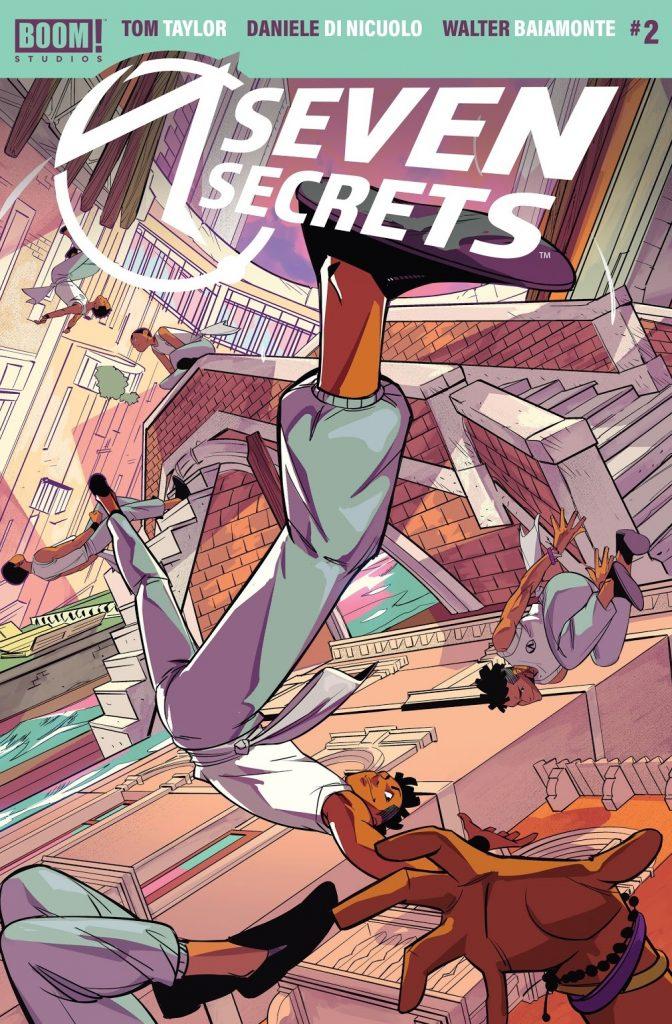 seven secrets issue 2 review