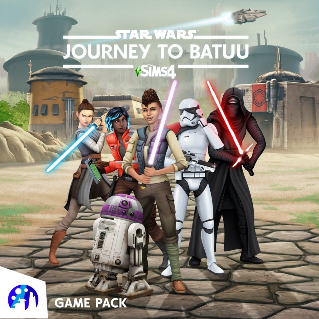 Journey to Batuu Star Wars Sims 4 Expansion Game Pack