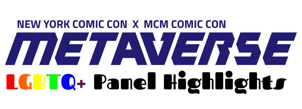 NYCC Metaverse LGBTQ panel