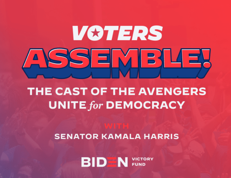Desperate Dems hoping Marvel fans will vote 'Harris for POTUS' (thegeekiary.com)