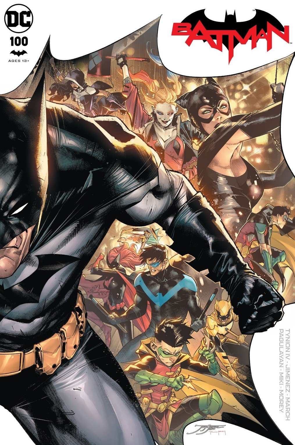 Batman Issue 100 review