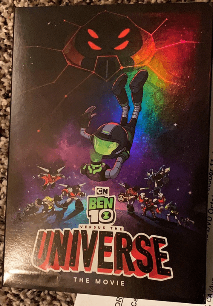 Ben 10 Versus the Universe movie DVD review