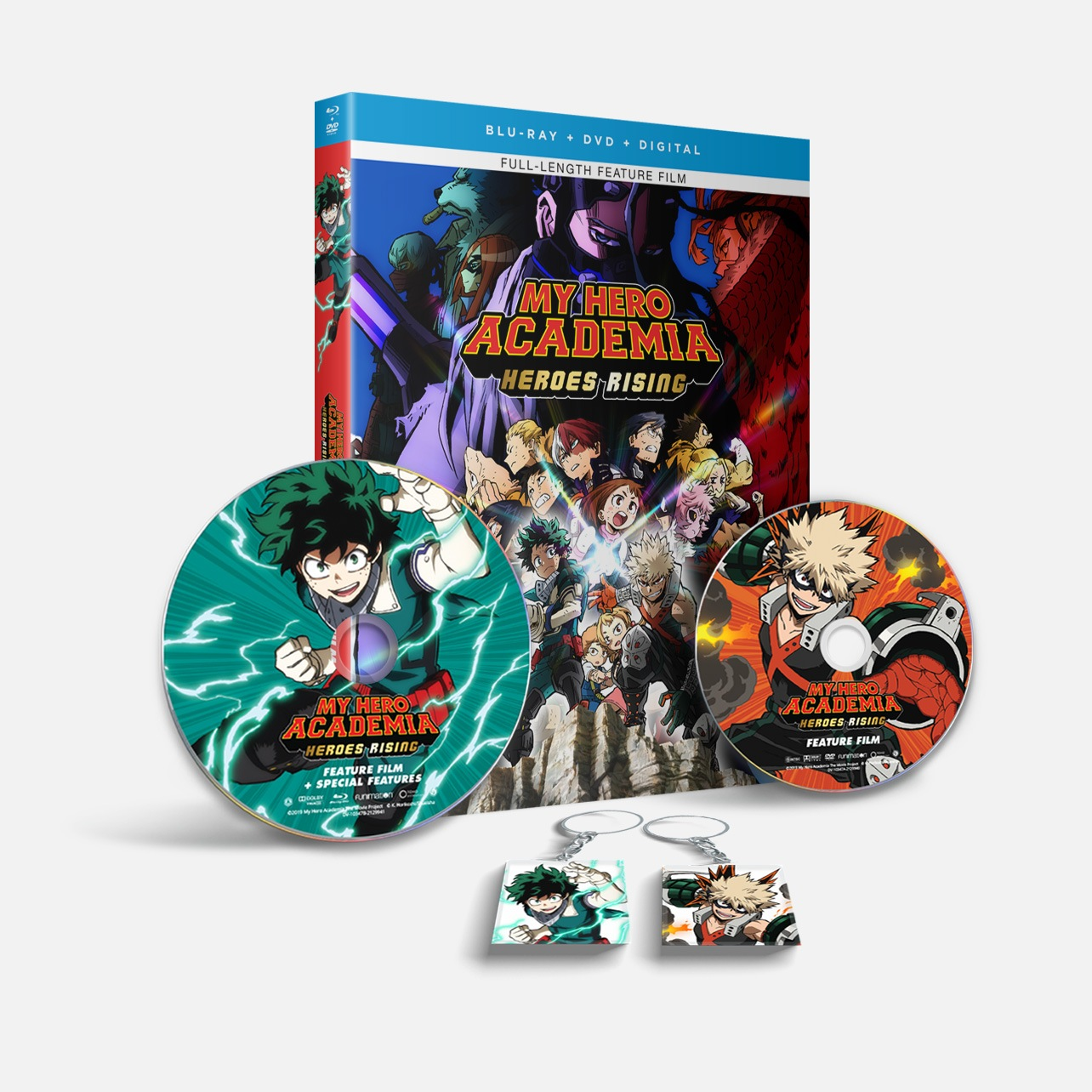 My Hero Academia Heroes Rising Blu Ray Dvd Digital October 27