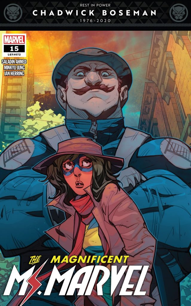 The Magnificent Ms Marvel issue 15
