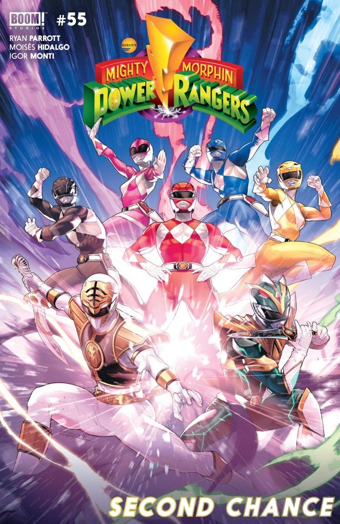 Mighty Morphin Power Rangers issue 55 review