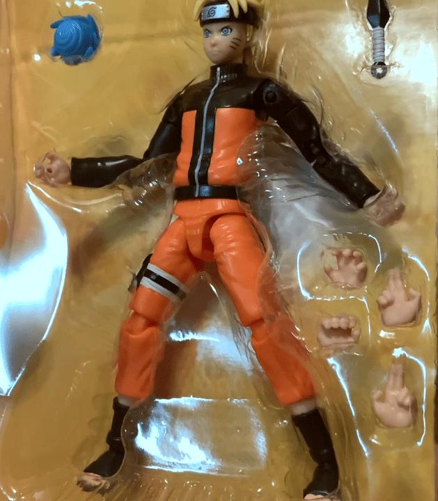 Naruto Uzumaki figure Bandai anime heroes