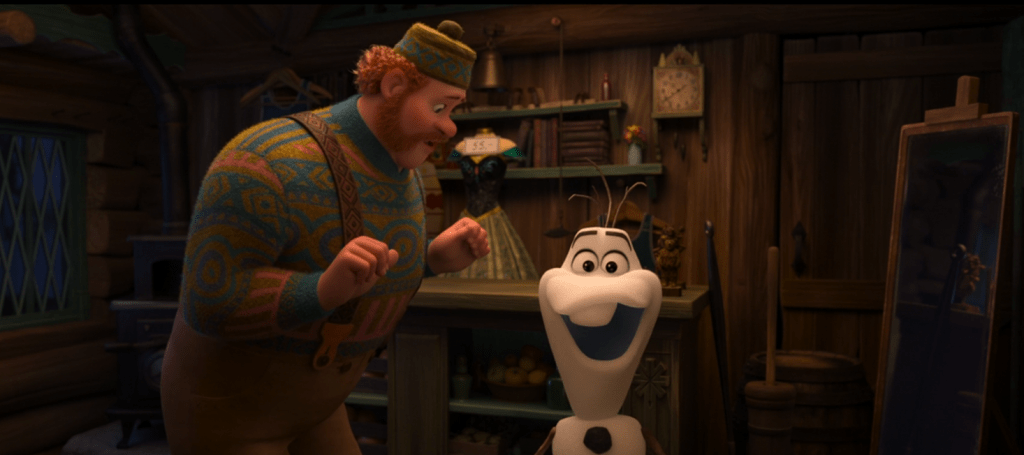 Once Upon a Snowman' Frozen Animated Short Review
