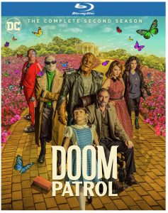 Doom patrol season two Blu-ray DVD January 2021