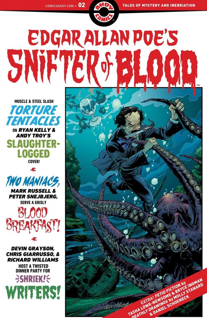 Edgar Allan Poe's Snifter of Blood Issue 2 review