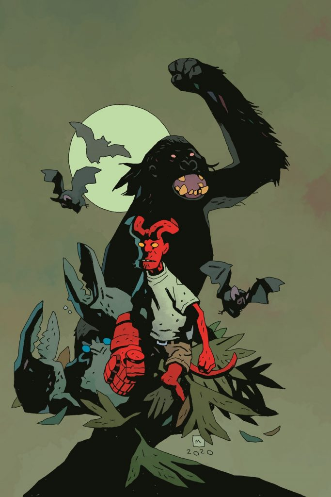 young hellboy the hidden land comic