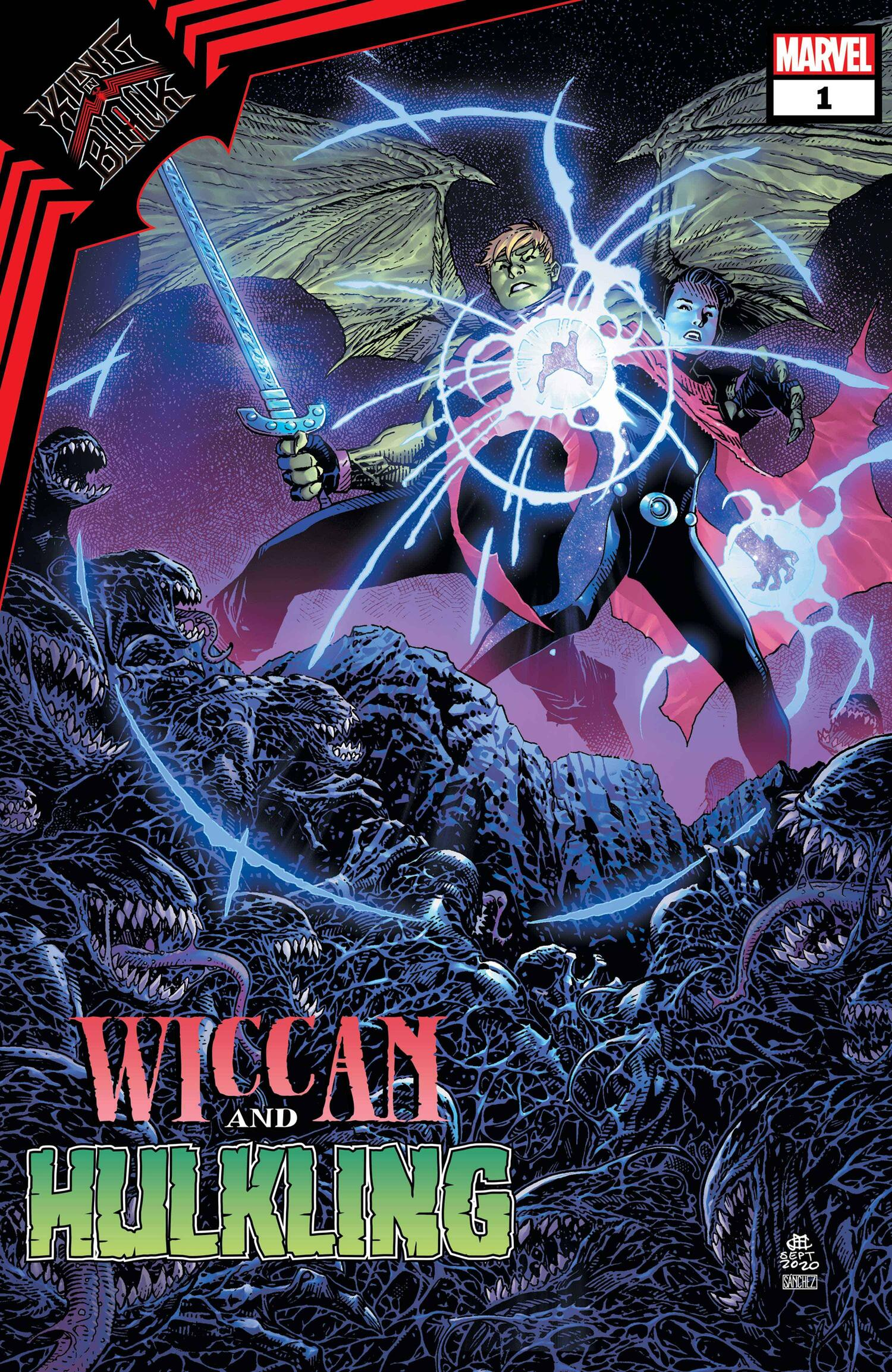 king in black wiccan and hulkling issue 1