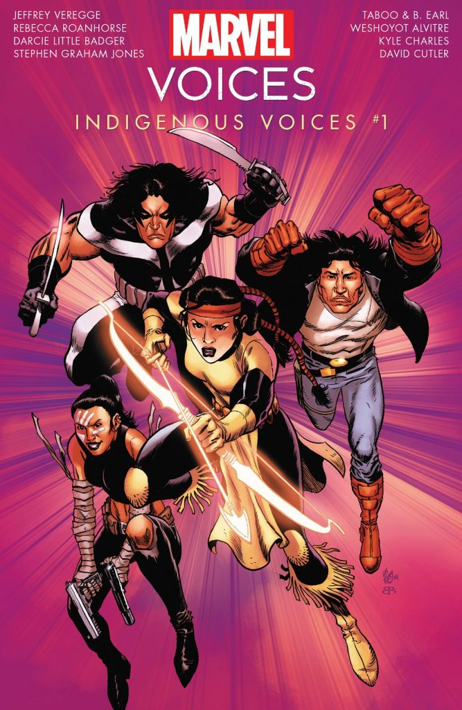 Marvel's Voices Indigenous Voices Issue 1 review