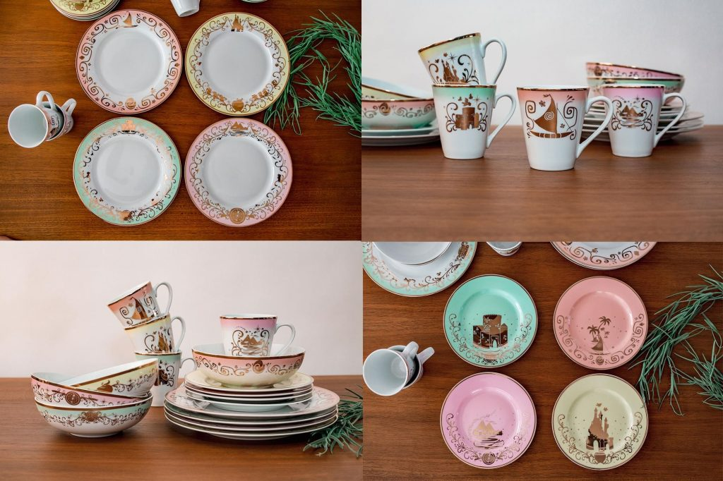 Disney Princess Dinnerware Collection Toynk