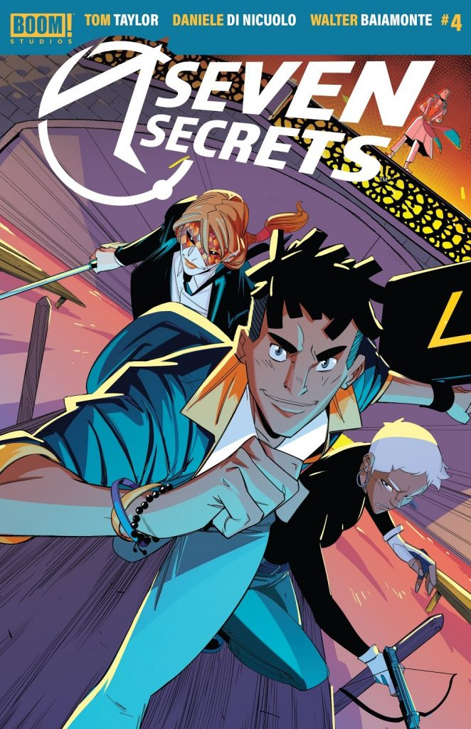 seven secrets issue 4 review