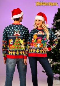 Fraggle Rock sweater