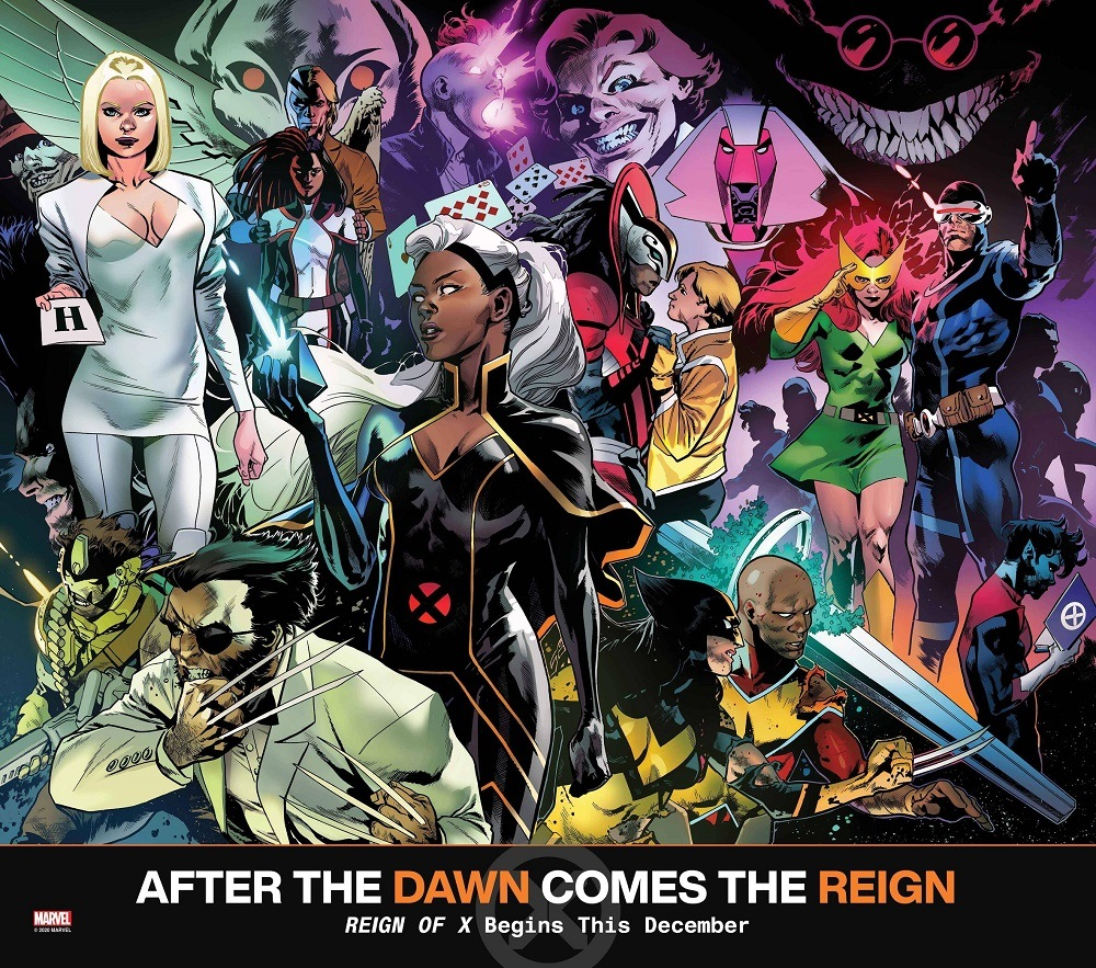 reign of x marvel comics