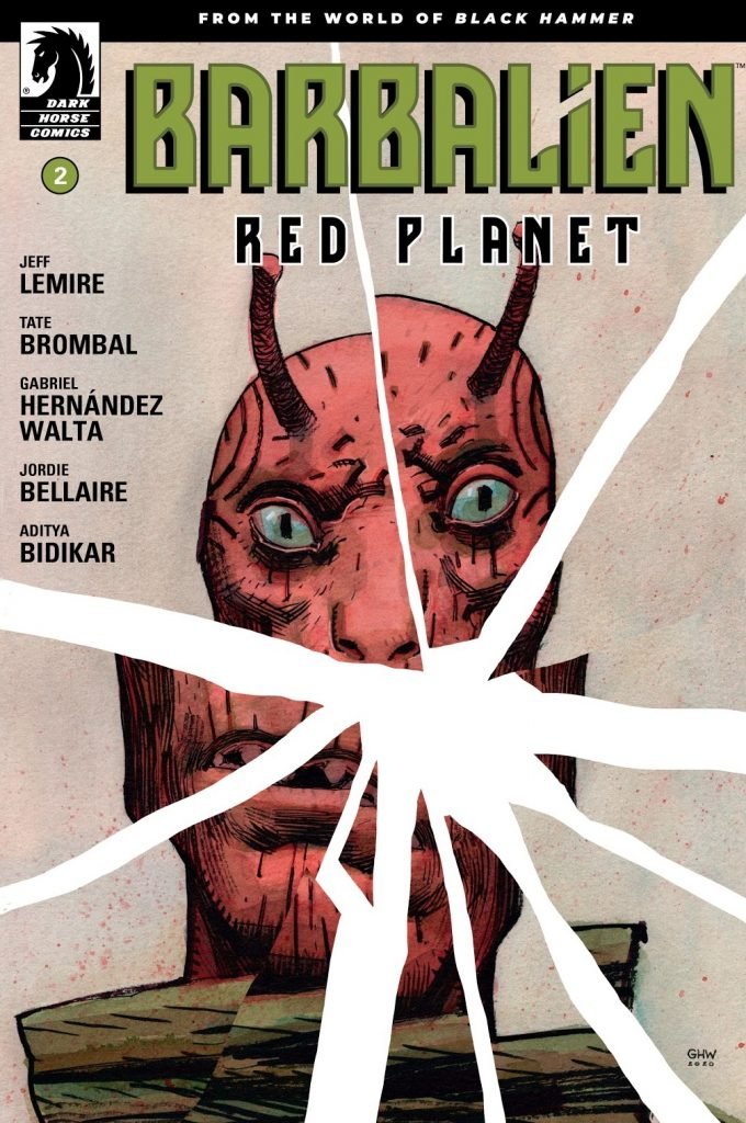 Barbalien: Red Planet Issue 2 review