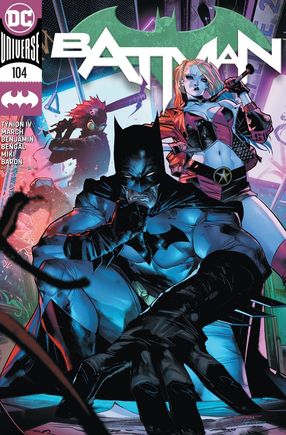 batman issue 104 review