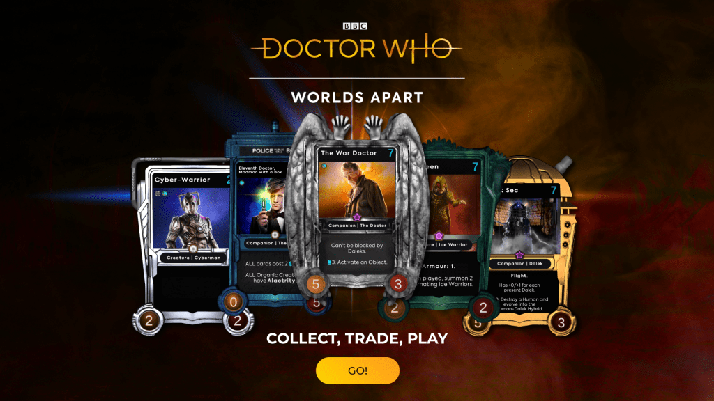 doctor who worlds apart card game