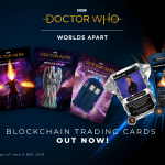 Doctor Who Worlds Apart game cards