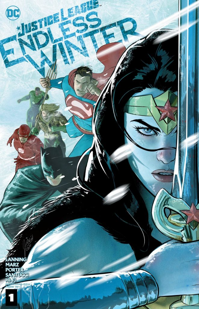 Justice League Endless Winter Issue 1 reveiw
