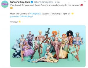rupauls drag race season 13 debut