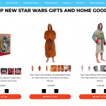 Star Wars home goods Toynk 2020