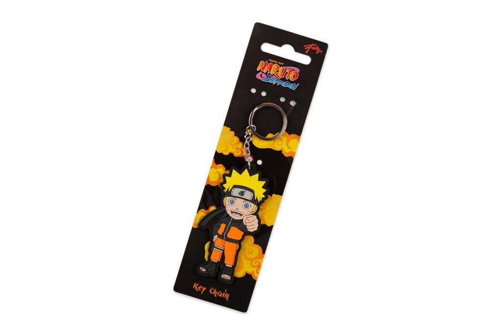 Naruto Shippuden Series Collectible PVC Character Keychain | Naruto Uzumaki