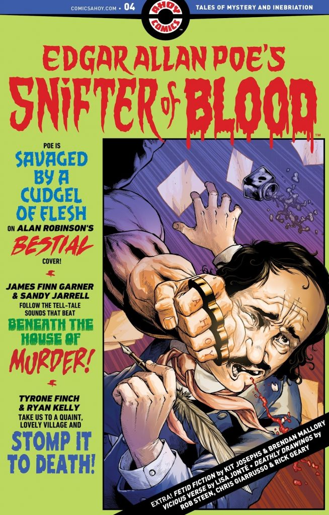 edgar allan poe's snifter of blood issue 4 review