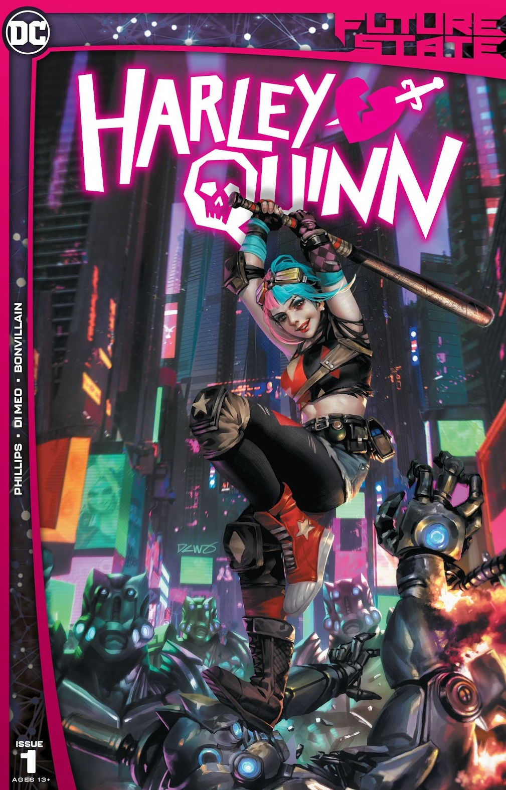 future state harley quinn issue 1 review