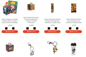 naruto shippuden items toynk