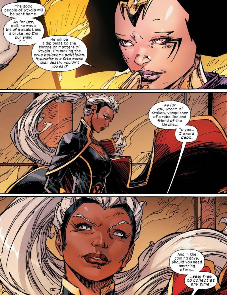x-men issue 17 review storm