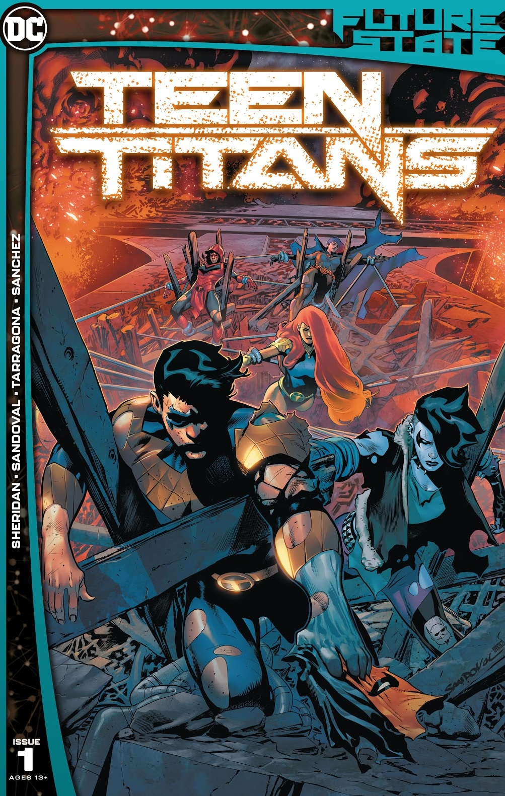 future state teen titans issue 1 reviwe