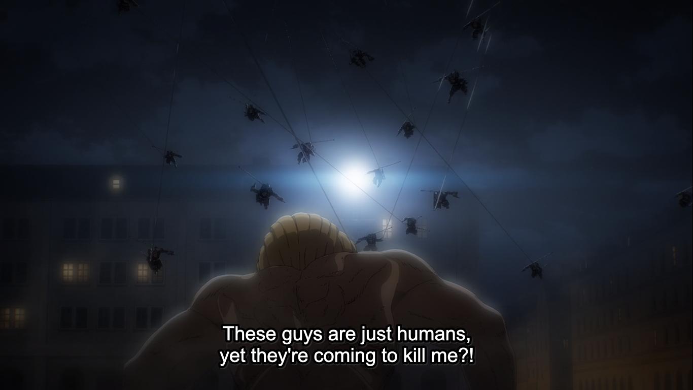 The War Hammer Titan Attack on Titan