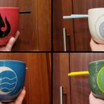 Avatar the last airbender ramen bowl