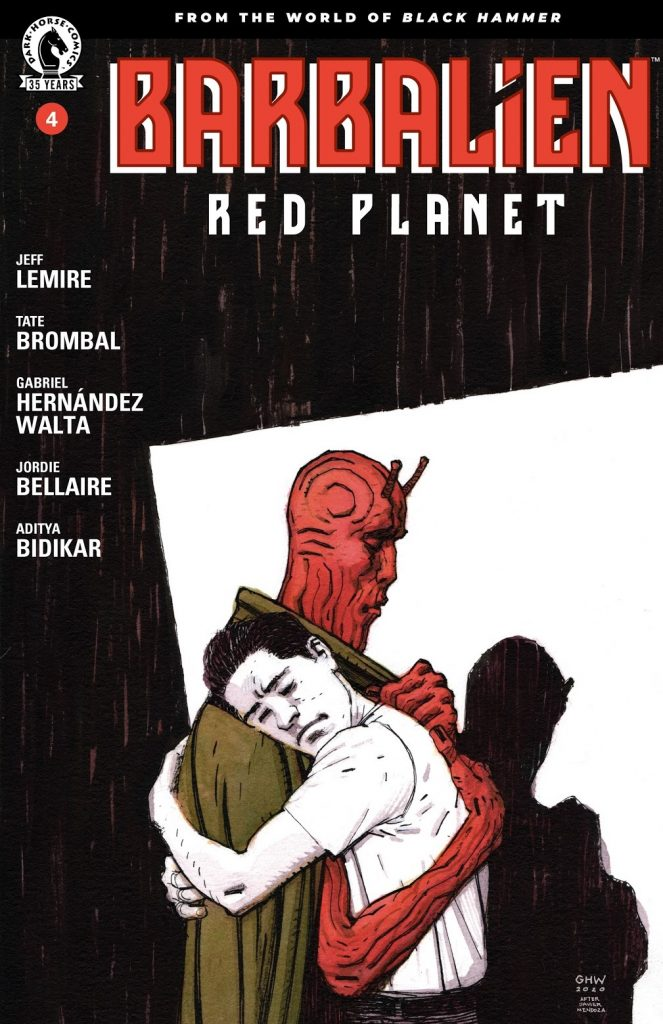 barbalien red planet issue 4 review