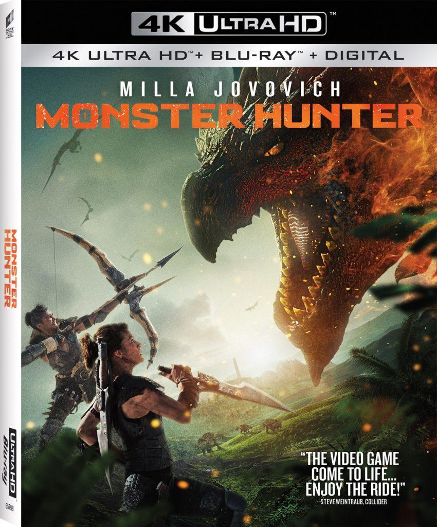 Monster Hunter Blu-ray DVD release