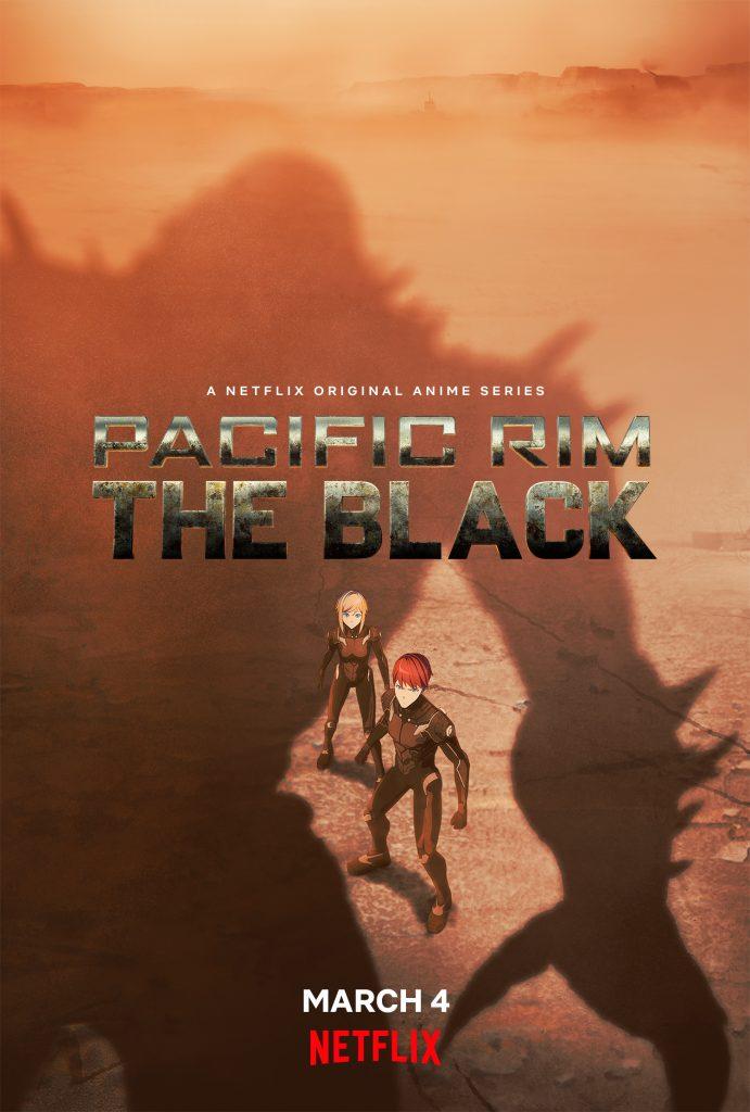 Pacific Rim anime The Black