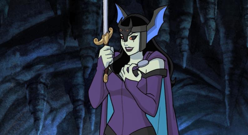 Morgan Le Fay in Scooby-Doo!