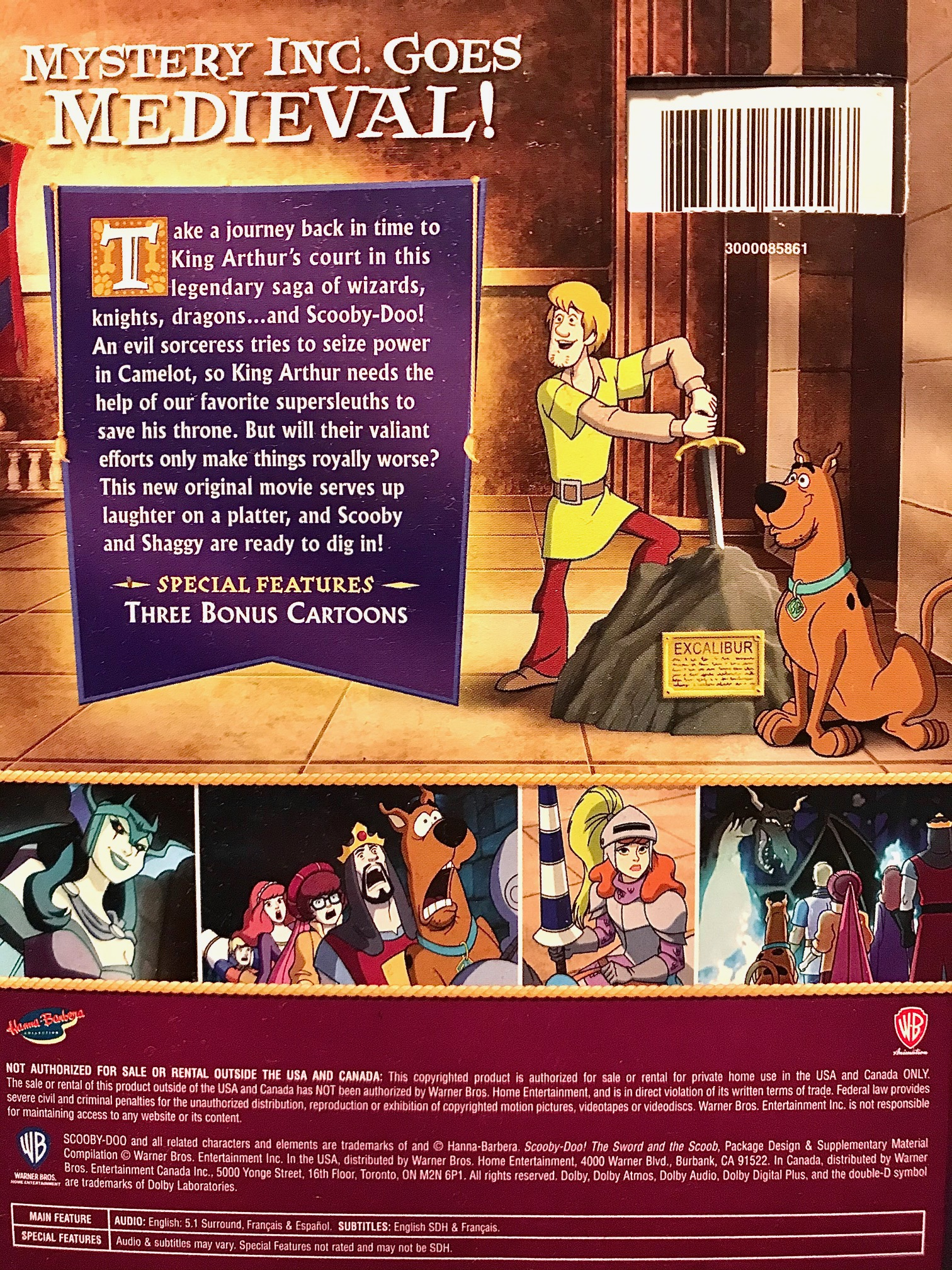 Scooby-Doo, The Sword and the Scoob
