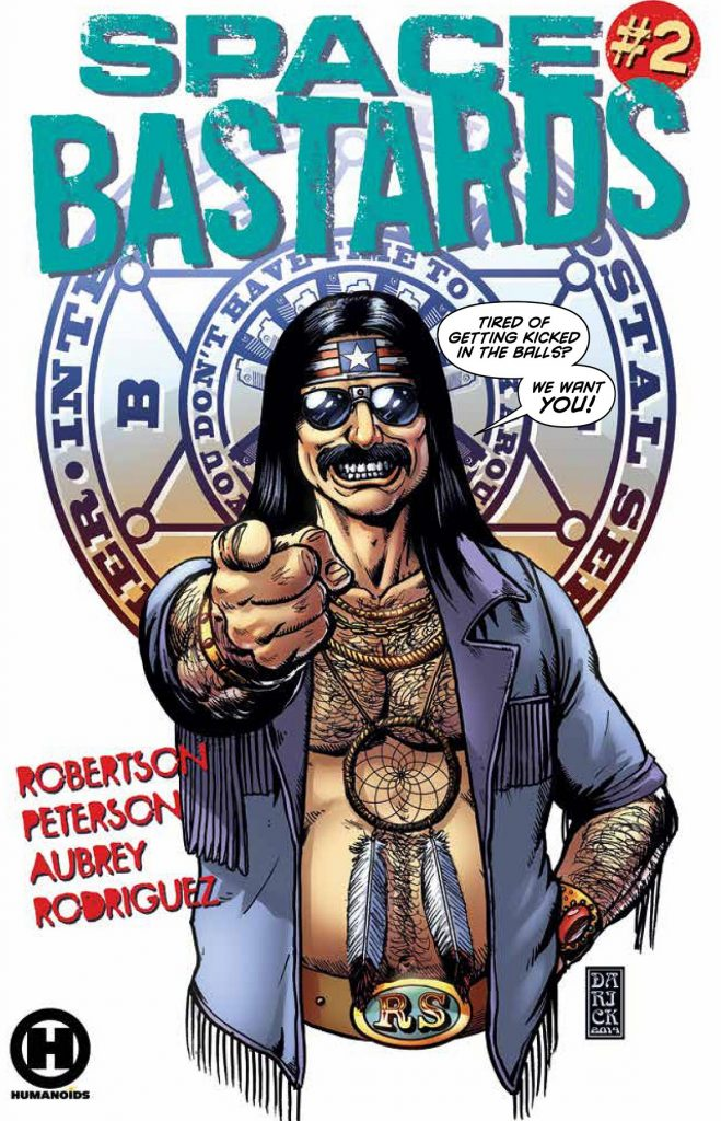 space bastards issue 2 review