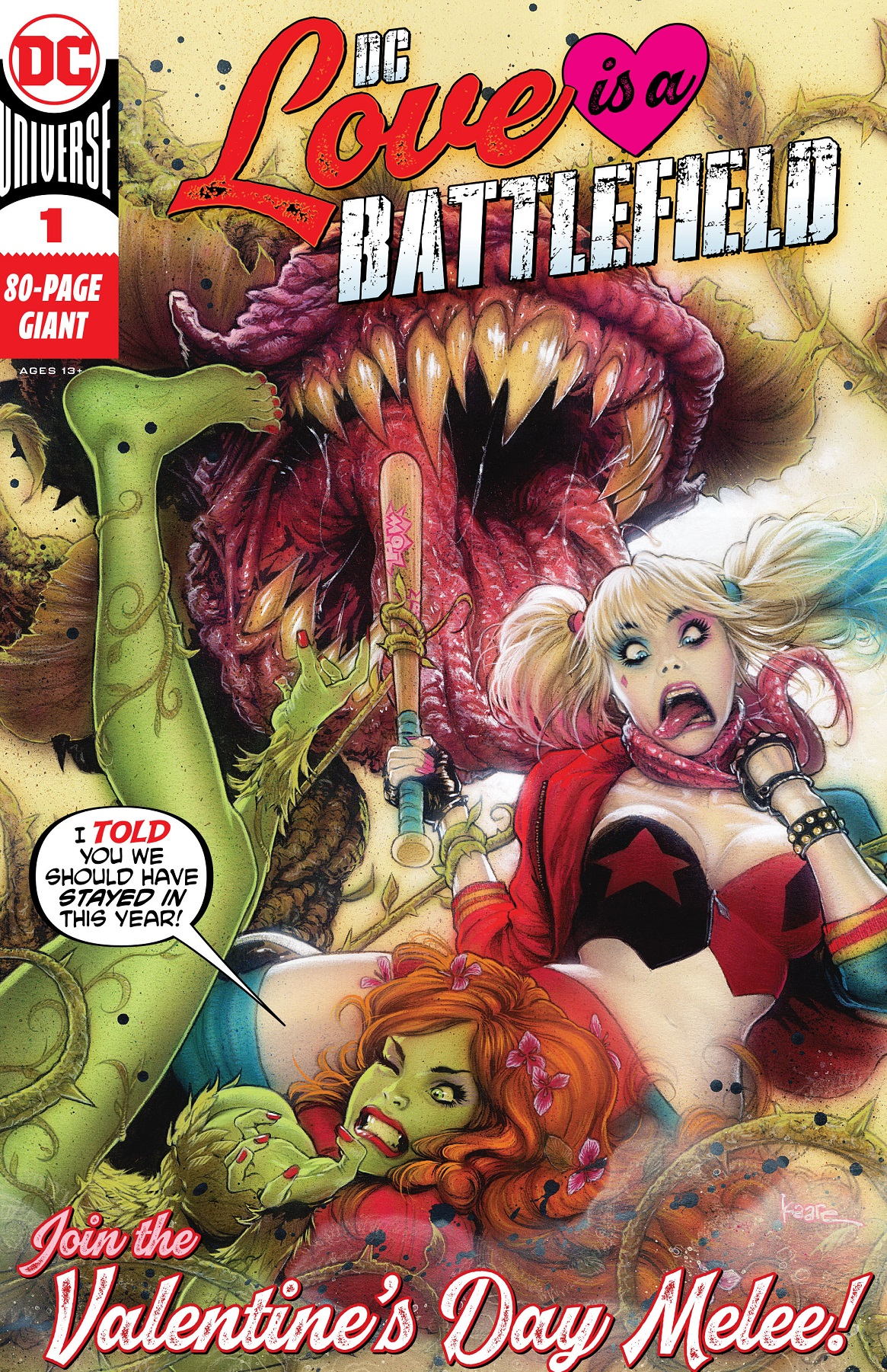Love is a Battlefield issue 1 review