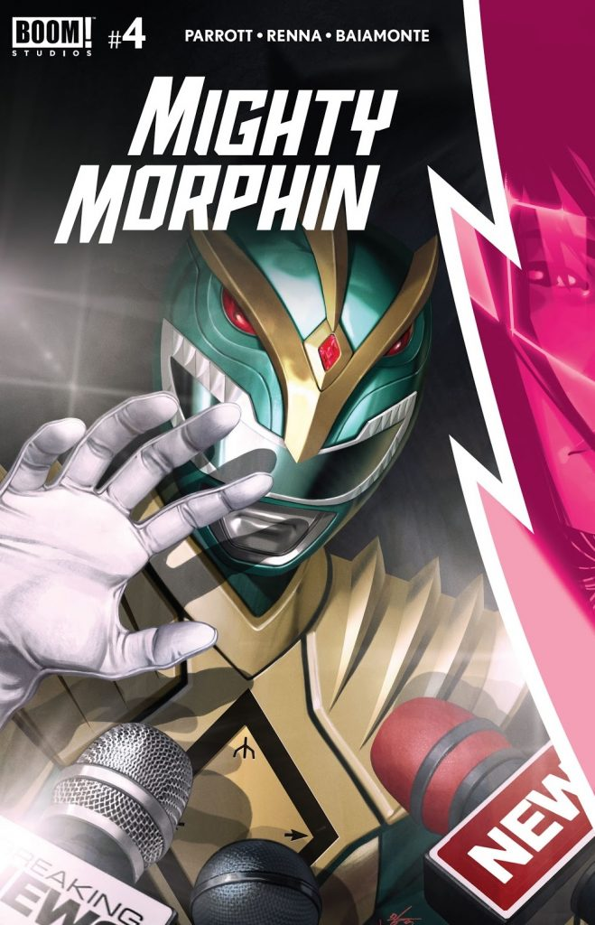mighty morphin issue 4 review