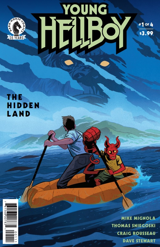Young Hellboy The Hidden Land Issue 1 review